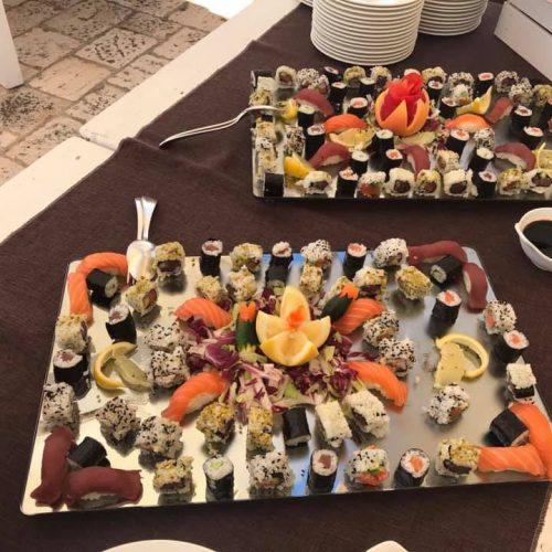 matrimonio di giorno sushi