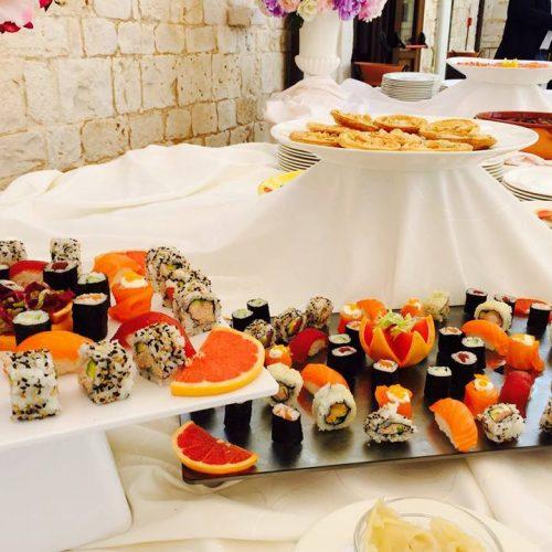matrimonio di primavera sushi